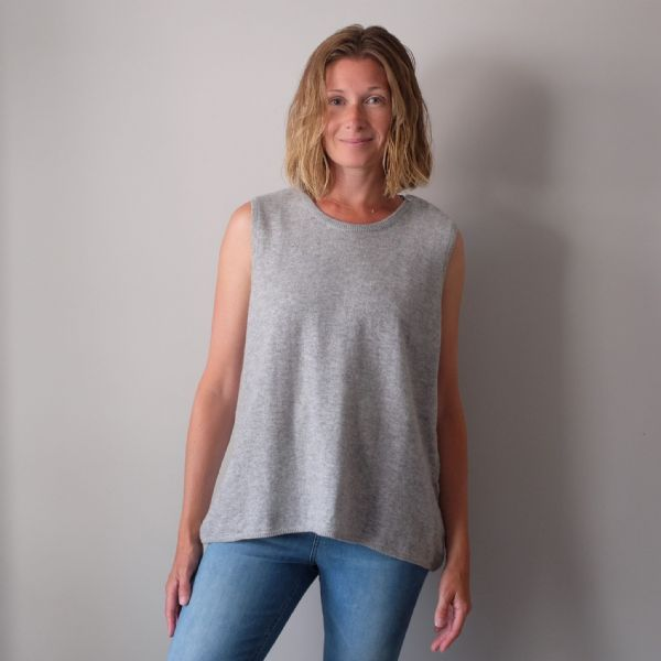 Cashmere Sleeveless Jumper